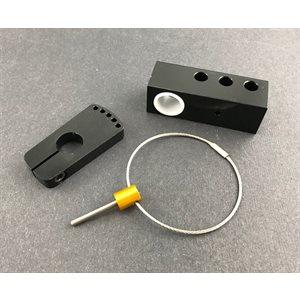 "- 5/8"" Steering Shaft Block With Lock Kit -"
