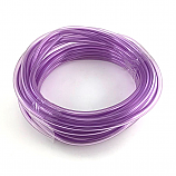 "- Fuel Line - Purple - Transparent - 1/4"" ID x 3/8"" OD -"