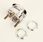 - 40MM UNIVERSAL WHEEL HUB WITH BOTH US/METRIC WHEEL PATTERN -