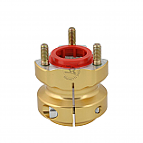 - Righetti/Ridolfi Gold Wheel Hubs 40mm x 62mm -
