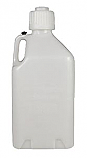 - 5 Gallon Utility Jug Clear - Red - Black -
