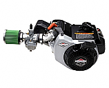 Briggs World Formula with Electric Start & Clutch